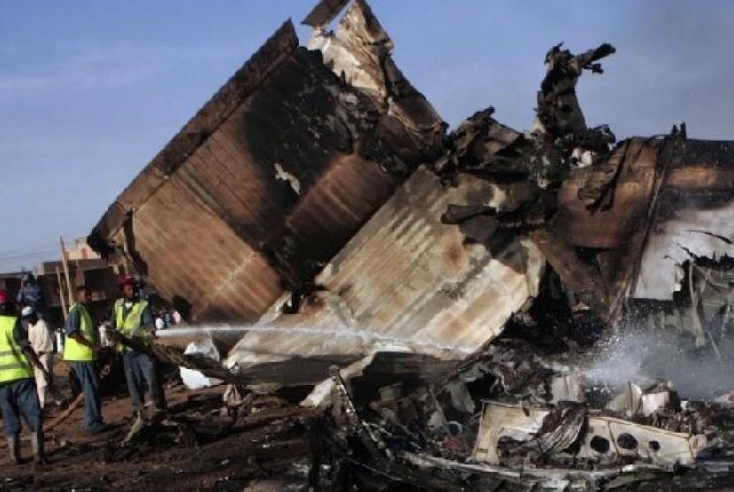 Kecelakaan pesawat di Sudan