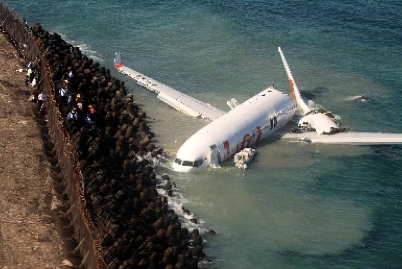 Kecelakaan Penerbangan Turun pada 2017