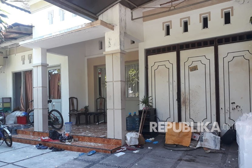 House of suicide bombers in Rungkut, Surabaya.