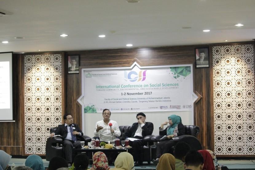 Kegiatan International Conference on Social Sciences (ICSS) iyang digelar 1 hingga 2 November