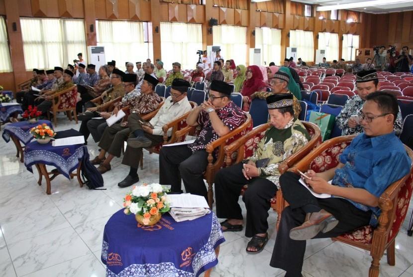 Kegiatan pengajian PWM Muhammadiyah.