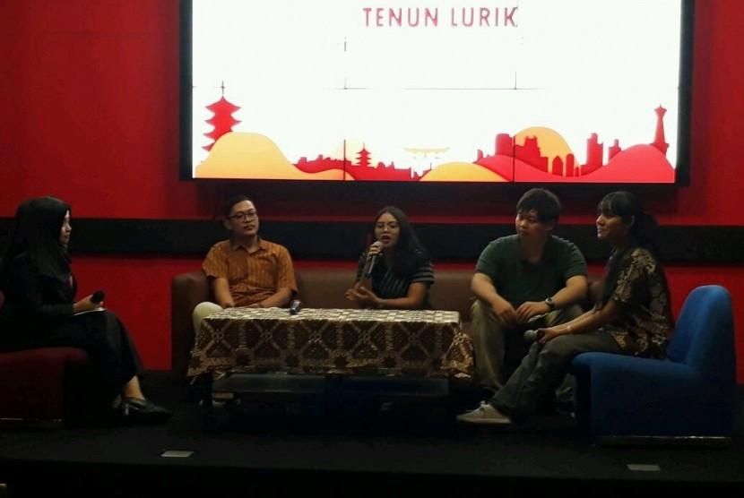 Kegiatan seminar Tenun Lurik Its History, Present, and Future.