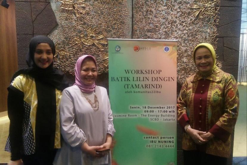 Sambut Hari Ibu, Workshop dan Pameran Lukisan Batik Digelar