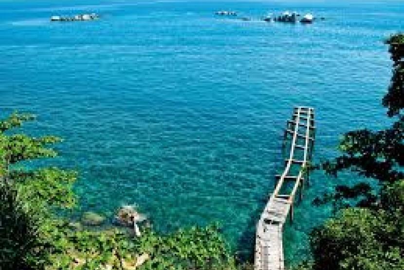 Keindahan pulau Bintan.
