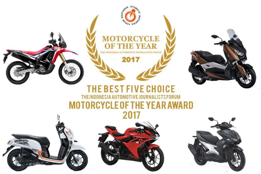 kelima sepeda motor finalis FMY 2017