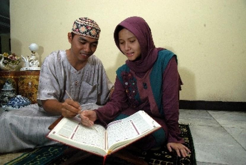 Keluarga sakinah (ilustrasi).
