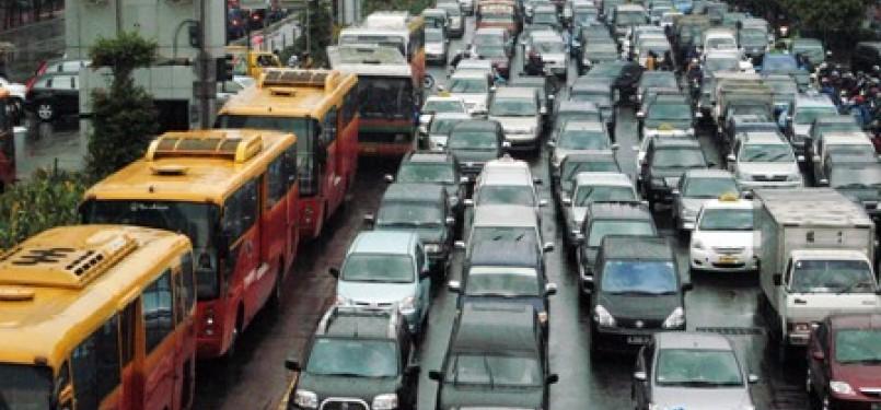 Kemacetan di Ibukota Jakarta