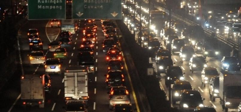 Kemacetan Ibukota Jakarta.