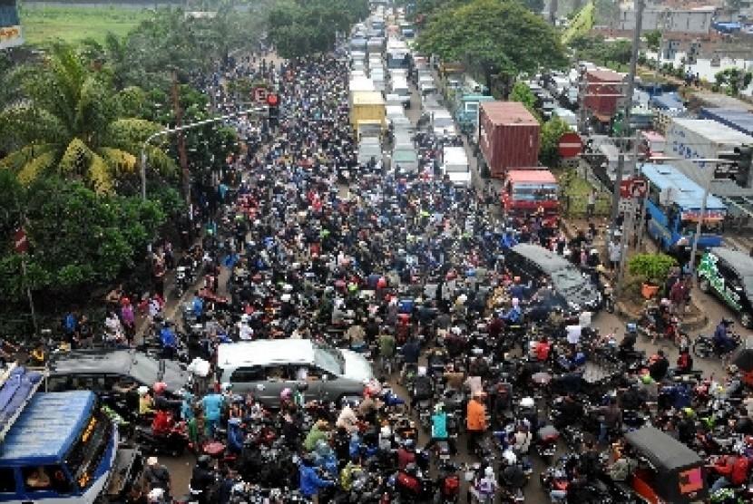 Kemacetan Parah di Jakarta
