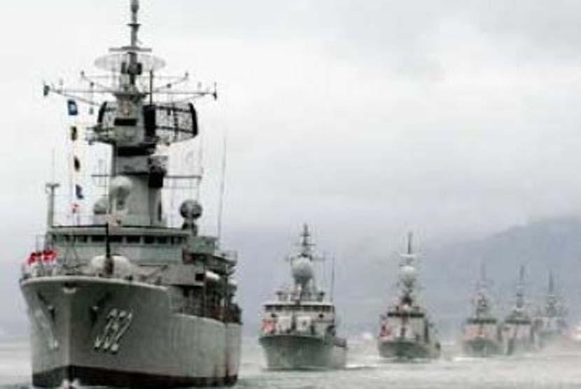 kemanan maritim RI (ilustrasi)