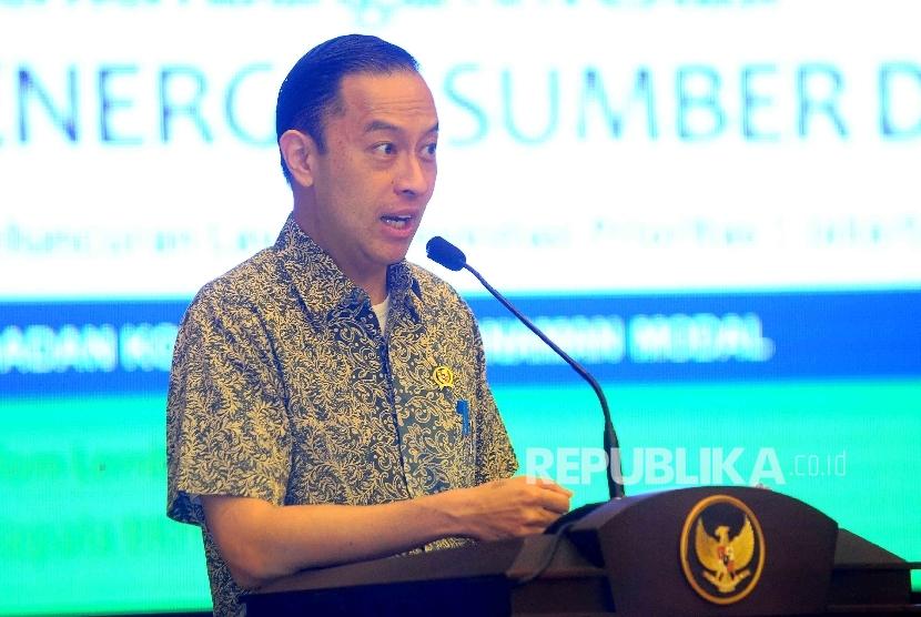Kepala Badan Koordinat Penanaman Modal (BKPM) Thomas Lembong.