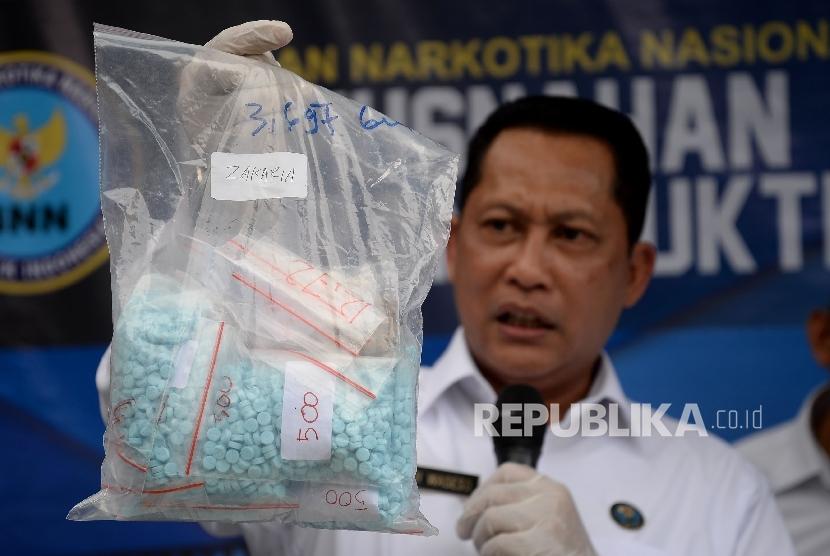 BNN Telusuri Peredaran Narkoba Jenis Flakka