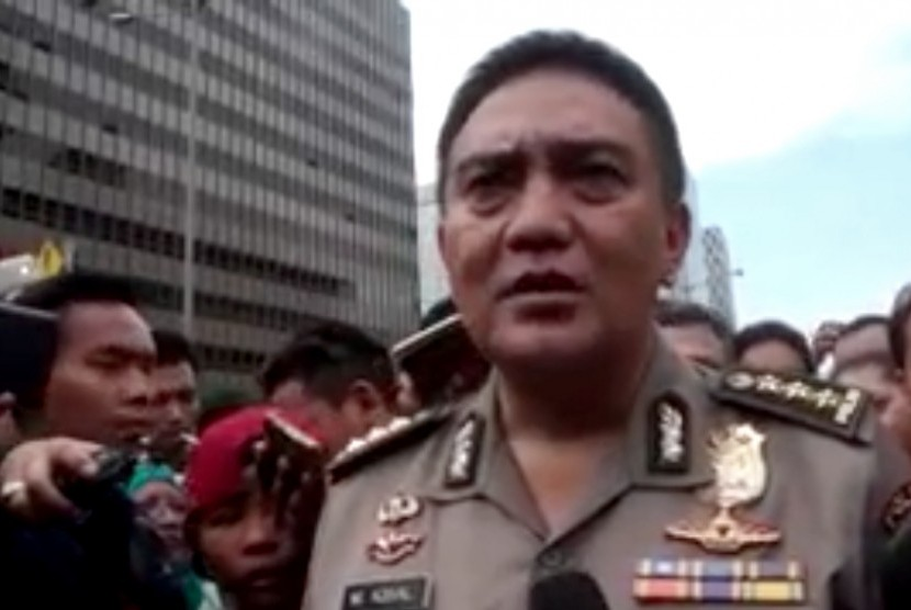 Kepala Bidang Humas Polda Metro Jaya Kombes Mohammad Iqbal