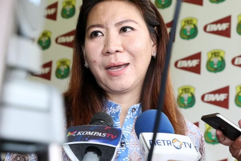 Kepala Bidang Pembinaan dan Prestasi PBSI, Susy Susanti.