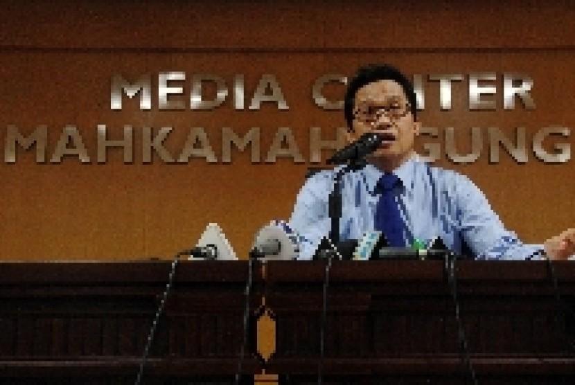 Kepala Biro Hukum dan Humas Mahkamah Agung Ridwan Mansyur