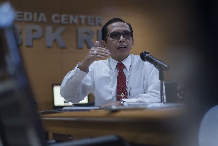 Kepala Biro Humas dan Kerjasama Internasional BPK R Yudi Ramdan Budiman