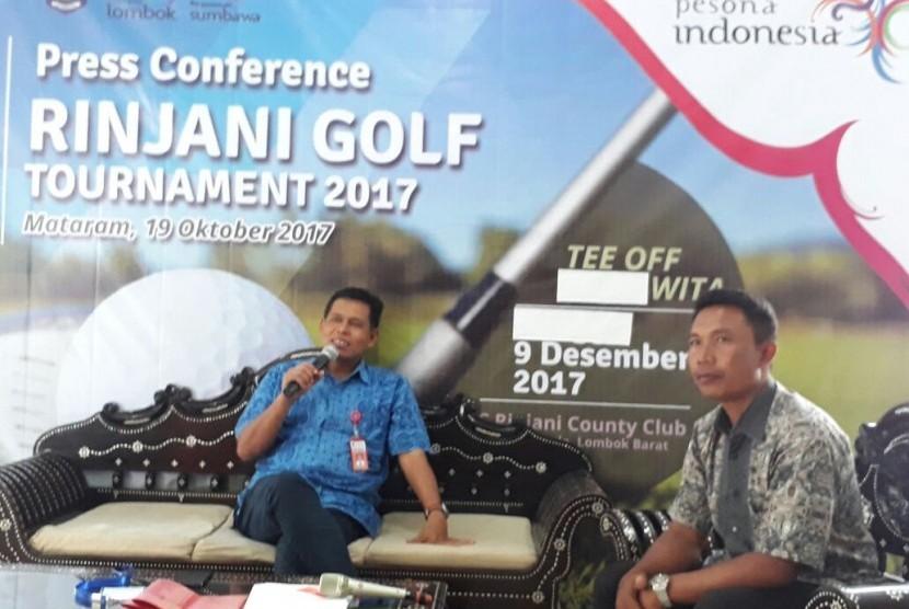 NTB Siap Gelar Rinjani Golf Tournament 2017