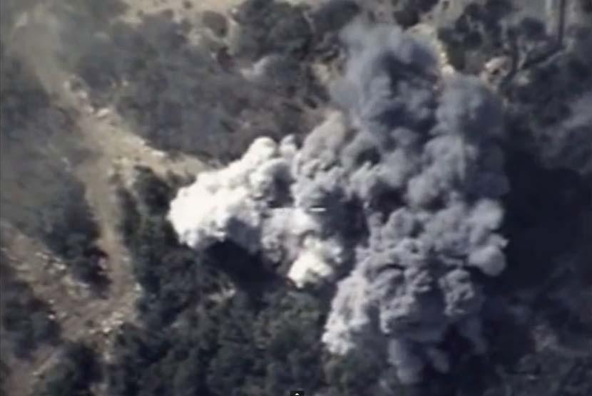 Serangan udara (ilustrasi).
