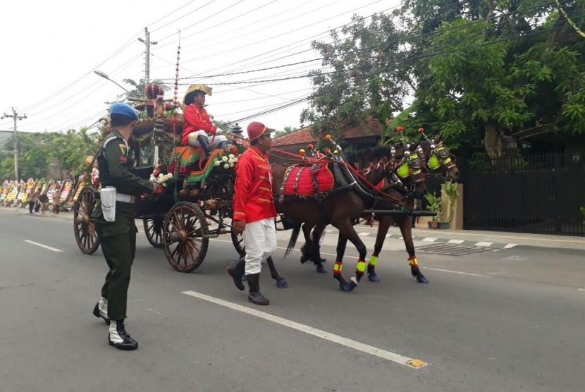 Kuda dari Solo Sudah Dikirim ke Medan untuk Kahiyang Bobby