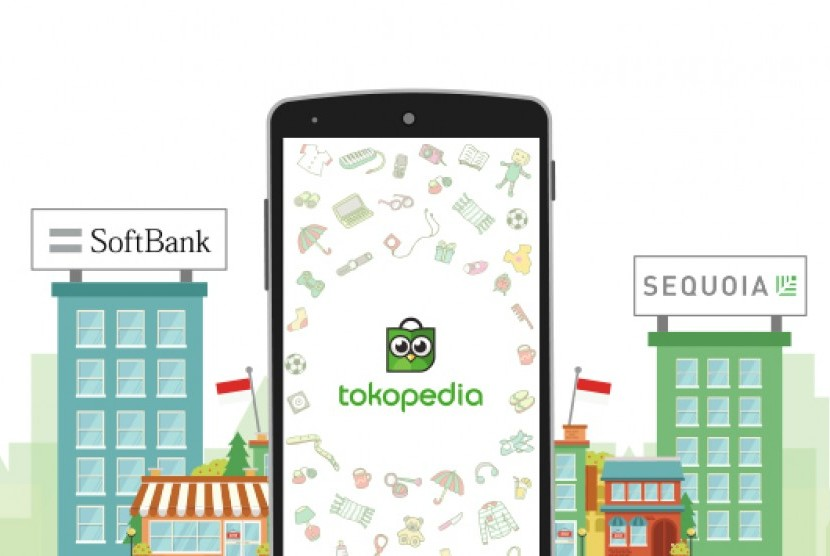 Kerjasama Tokopedia-softbank