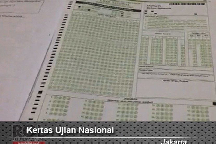 Kertas Soal Ujian Nasional