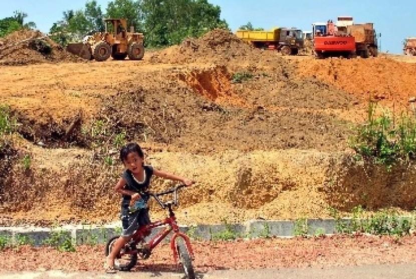 Kerusakan lingkungan (ilustrasi)