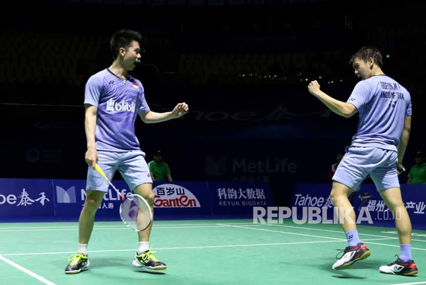 Kevin/Marcus ke Final China Open 2017