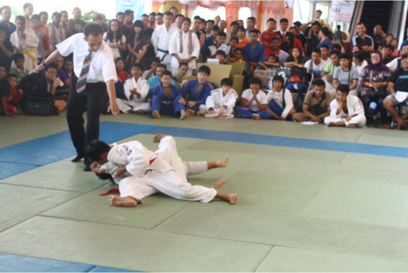 Ketika Judo goes to campus