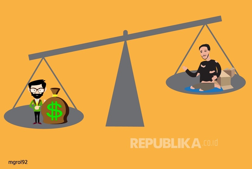 Ketimpangan sosial  (Ilustrasi)