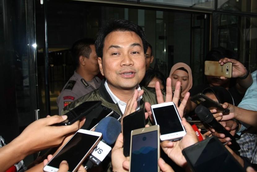 Ketua Banggar DPR sekaligus Ketua DPP Partai Golkar Azis Syamsuddin.