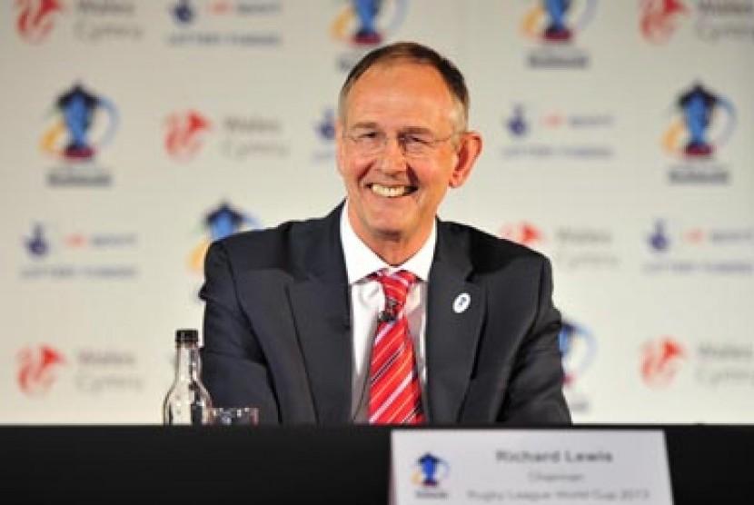 Ketua Baru All England Cup. Richard Lewis terpilih sebagai Presiden baru All England Cup di Wimbledon, London, Inggris, Selasa (10/4) waktu setempat. (Wimbledon.com)