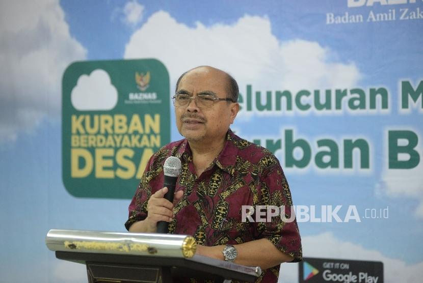 Ketua BAZNAS Bambang Sudibyo.