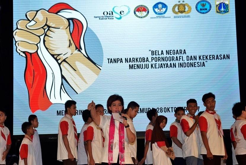 Ketua Bidang III Sosial-Budaya OASE Nora Tristyana.