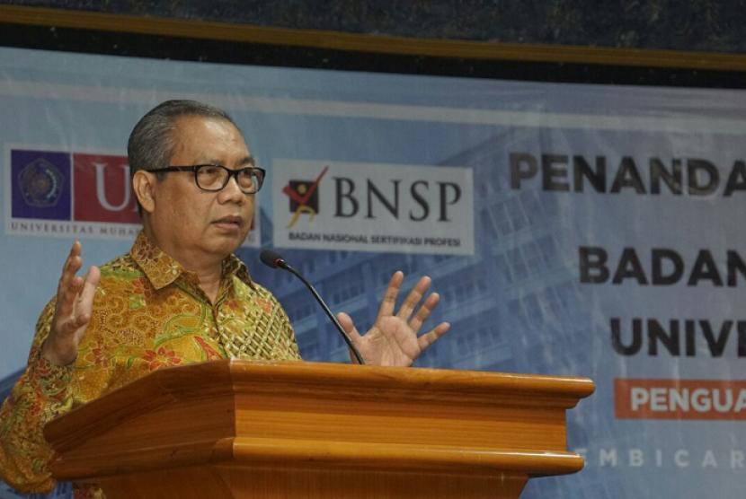 Ketua BNSP Sumarna F Abdurrahman.