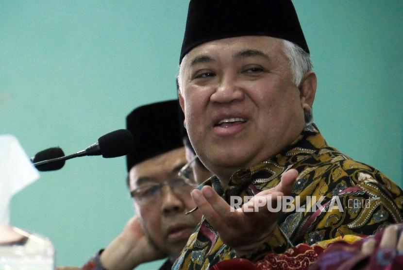 Din Syamsuddin: Diskreditkan Muslim Picu Radikalisme