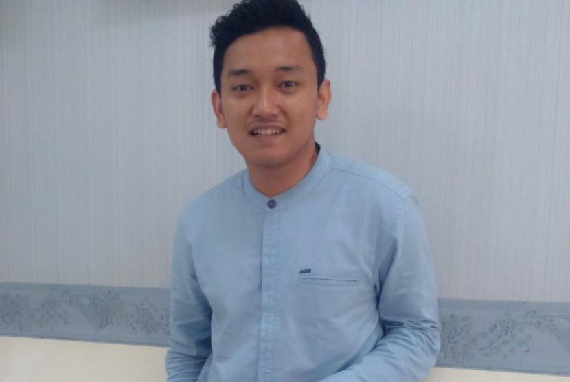 Ketua Dewan Pimpinan Daerah Ikatan Mahasiswa Muhammadiyah DKI Jakarta Mega Saputra