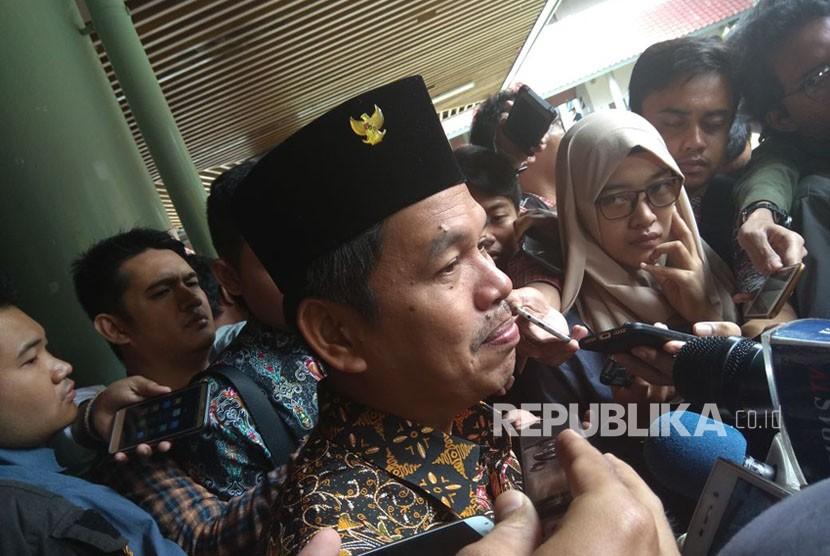 Ketua Dewan Pimpinan Daerah Partai Golkar Jawa Barat Dedi Mulyadi.