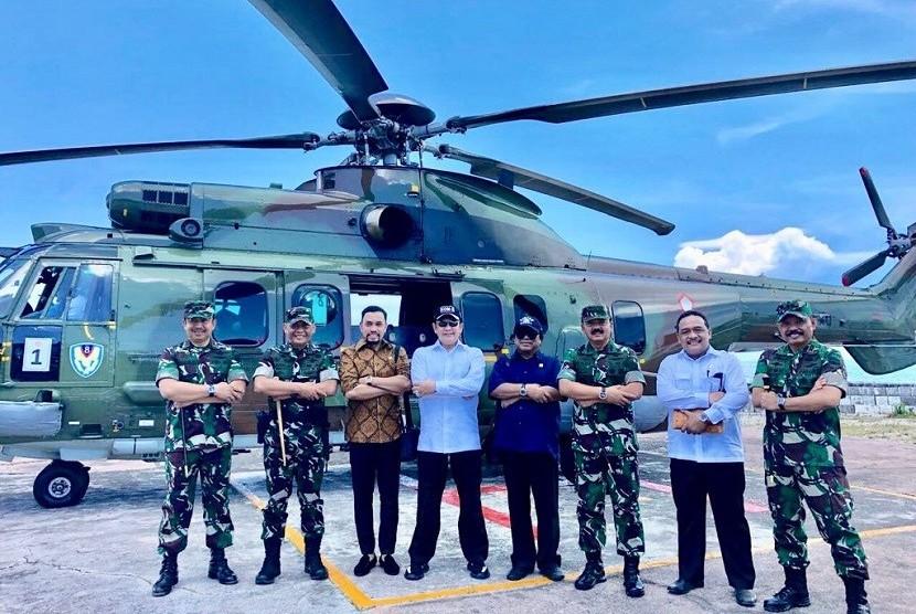 Ketua DPR RI Bambang Soesatyo (empat kiri)