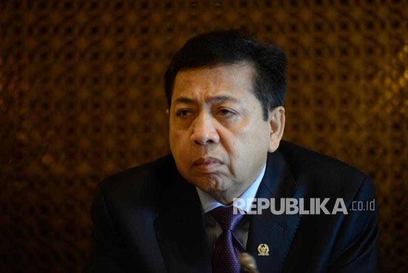 Chairman of the House of Representatives Setya Novanto