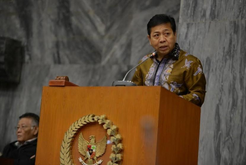 Ketua DPR Setya Novanto.