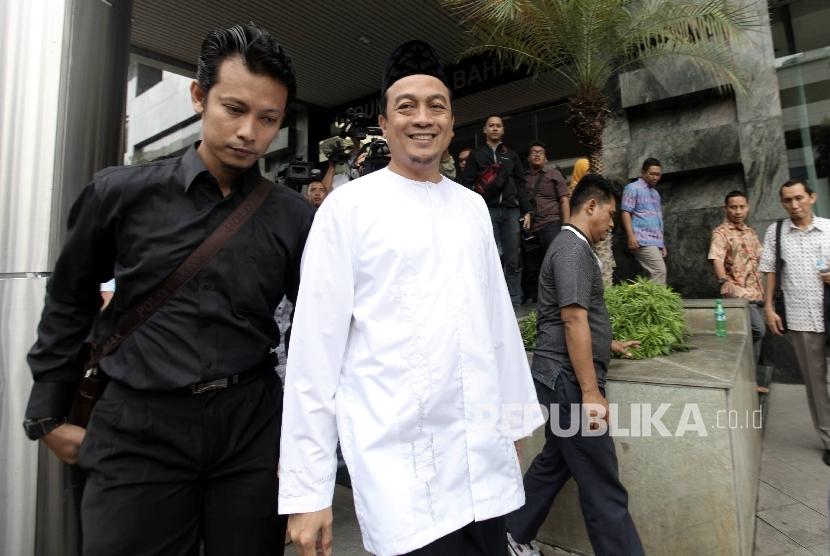 Ketua Gerakan Nasional Pengawal Fatwa Majelis Ulama Indonesia (GNPF MUI) Bachtiar Nasir