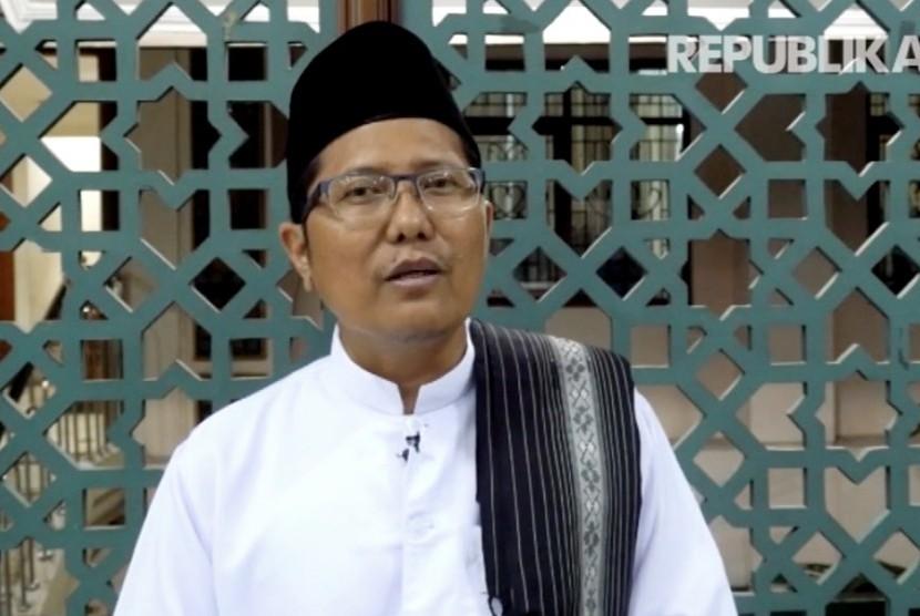 Ketua Komisi Dakwah dan Pengembangan Masyarakat Majelis Ulama Indonesia (MUI), KH Cholil Nafis