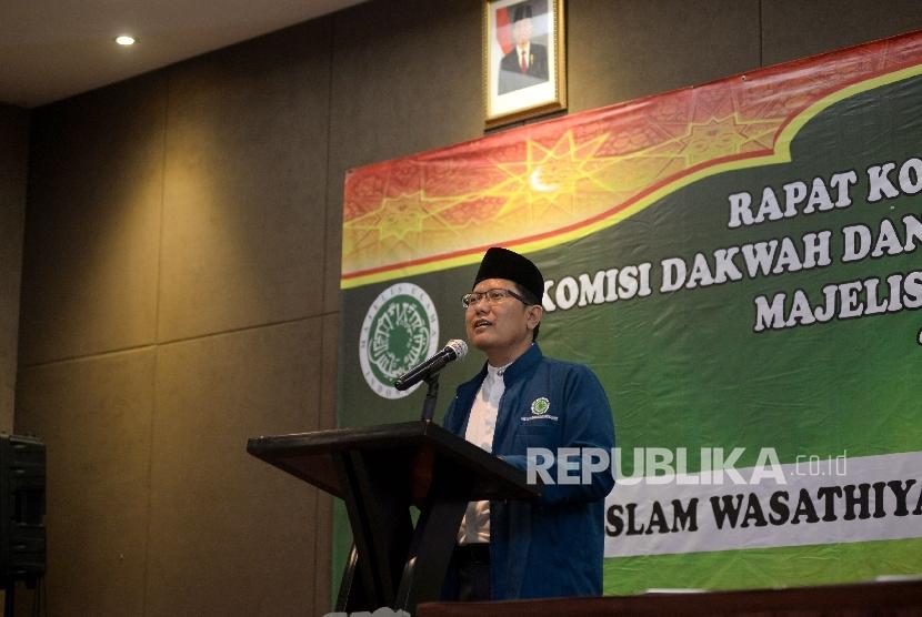 Ketua Komisi Dakwah Majelis Ulama Indonesia Cholil Nafis