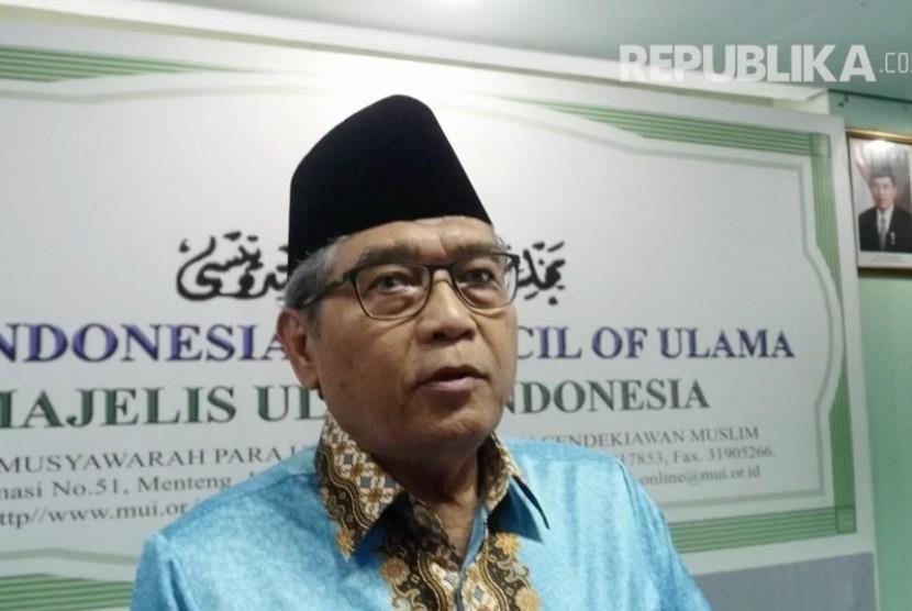 Ketua Komisi Fatwa Majelis Ulama Indonesia (MUI) Hasanuddin