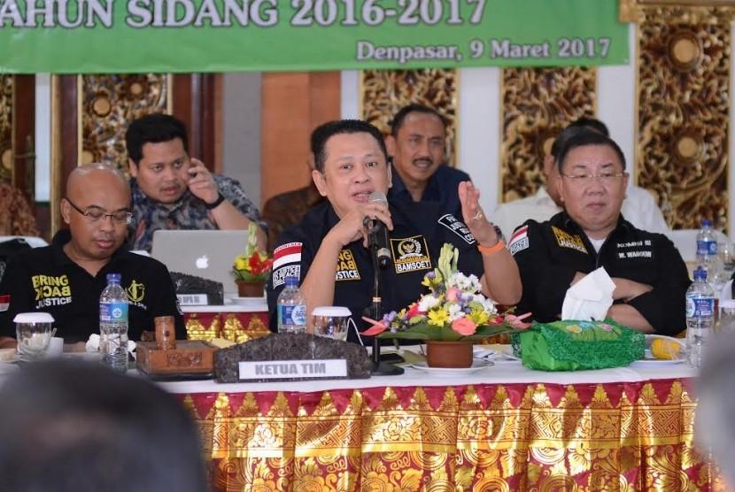 Ketua Komisi III DPR RI Bambang Soesatyo.