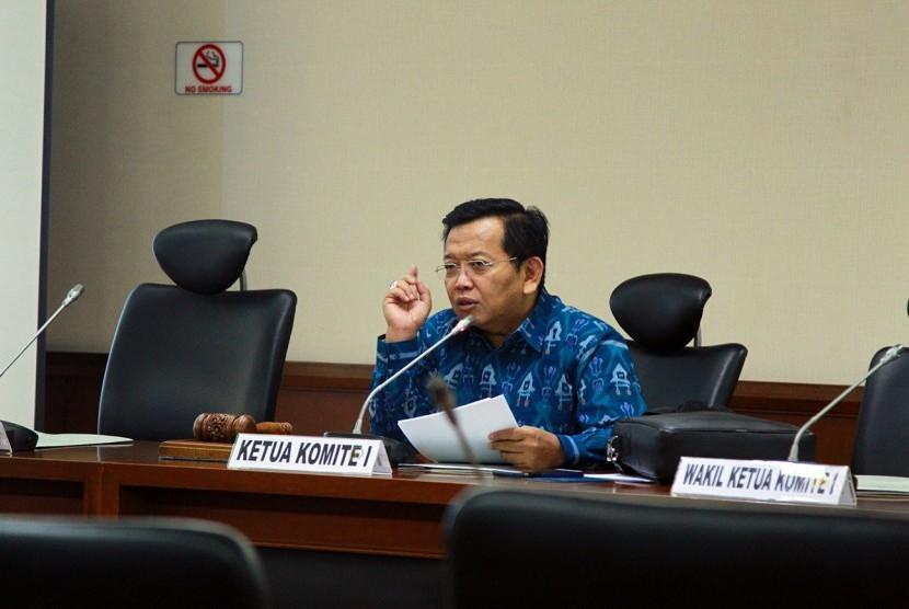Ketua Komite I Dewan Perwakilan Daerah Republik Indonesia (DPD RI), Akhmad Muqowam
