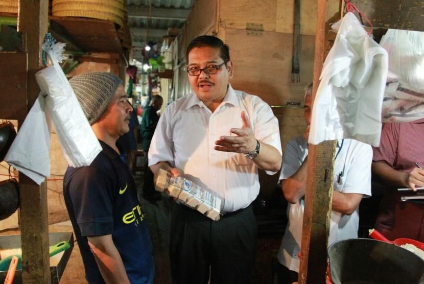 Ketua Komite II DPD RI, Parlindungan Purba, menjelaskan tentang pentingnya pemerintah daerah memiliki masterplan penanganan sampah.