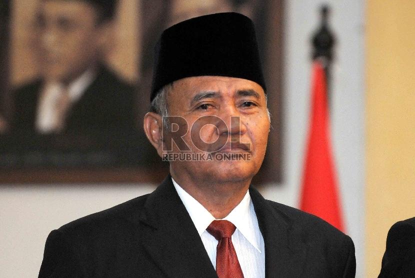 Ketua KPK terpilih, Agus Raharjo