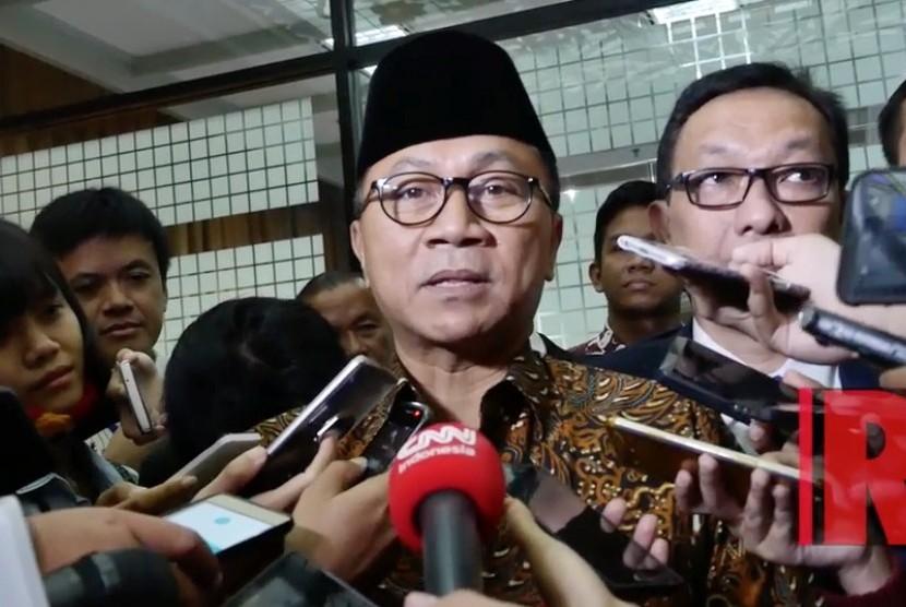 Ketua Majelis Permusyawaratan Rakyat (MPR) RI Zulkifli Hasan