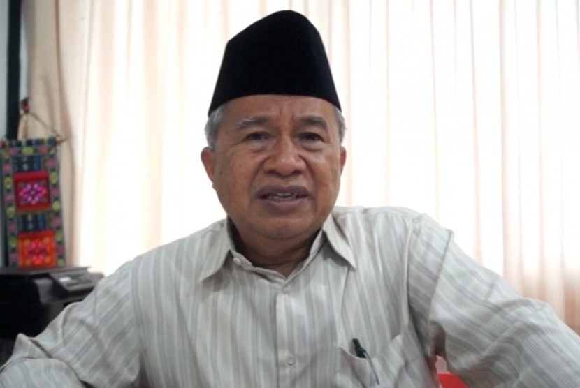 Ketua Majelis Ulama Indonesia Bidang Hubungan Internasional Muhyiddin Junaidi